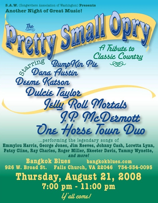 The Pretty Small Opry